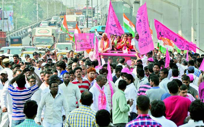trs may win 90 seats in ghmc elections