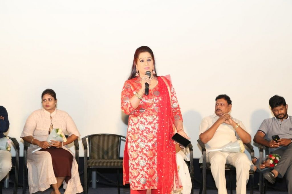 ragini about the-motherland-movie