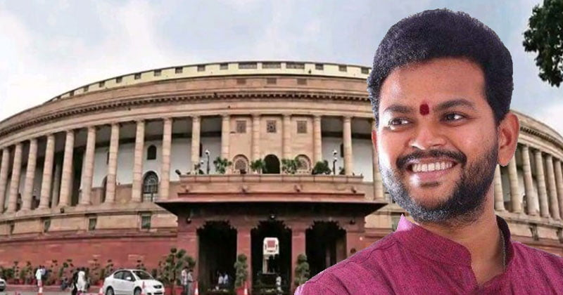 TDP Mp rammohan naidu taking break for parliament