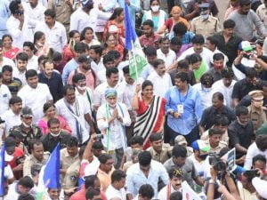 Vijayasai Reddy : setback for ysrcp leader vijayasaireddy after his padayathra