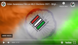 Telangana MLC Elections : special video released by election commission of india for telangana mlc voters