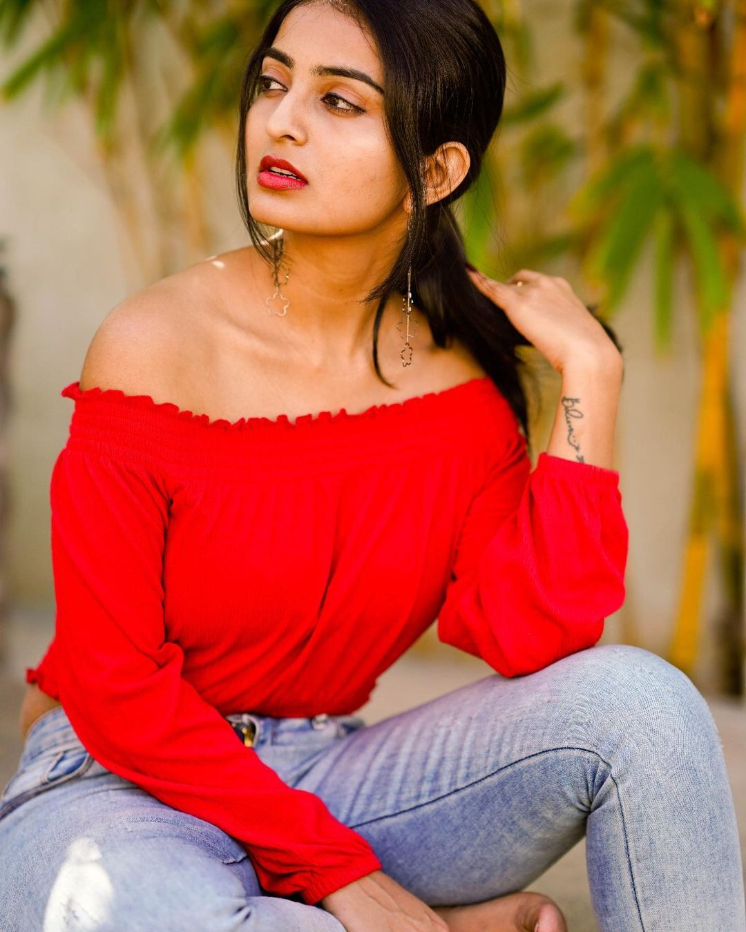 is ananya-nagalla glamour plus for her