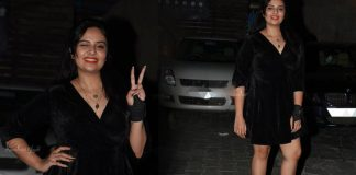 Sreemukhi Black Dress Stills