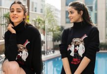 Ananya Panday joshful Clicks