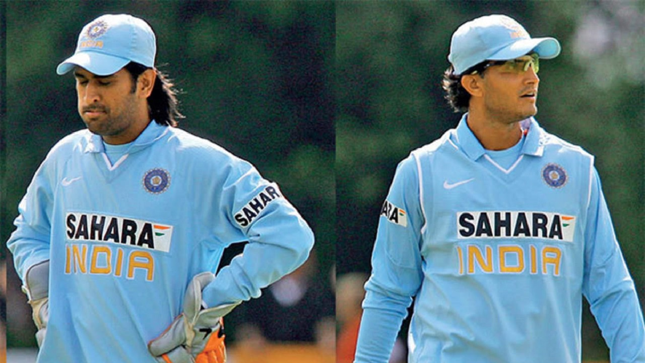 Story Behind Sourav Ganguly to let MS Dhoni Keep Wickets