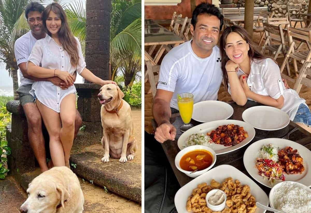 Kim sharma Dating With Leander Paes