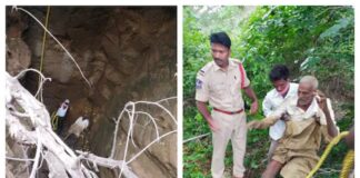 Man fell in Siddipet Alive After 3 Days