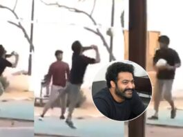 NTR Plays Volleyball in RRR Sets