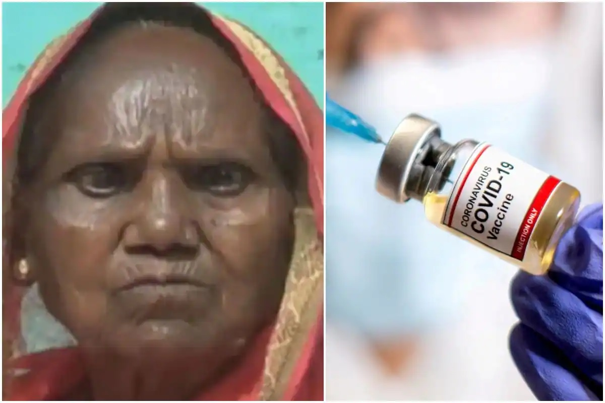 Women get Eye Sight With Covid Vaccine