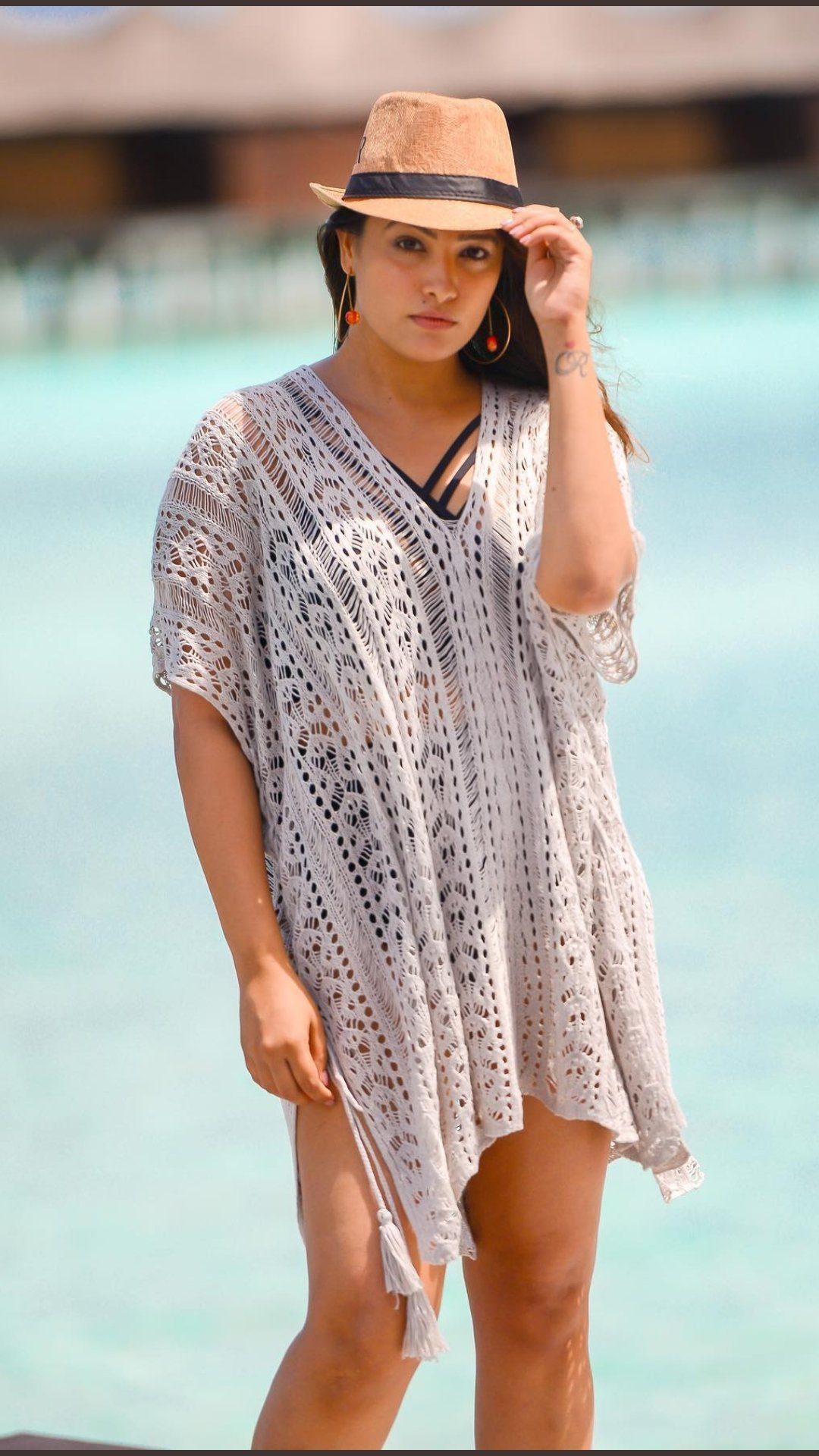 Actress Anitha Reddy Latest Photoshoot in Maldives