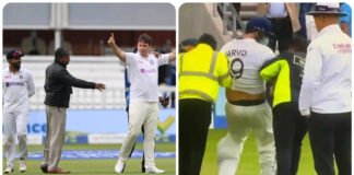 England Spectator Entered the Ground As Indian Player