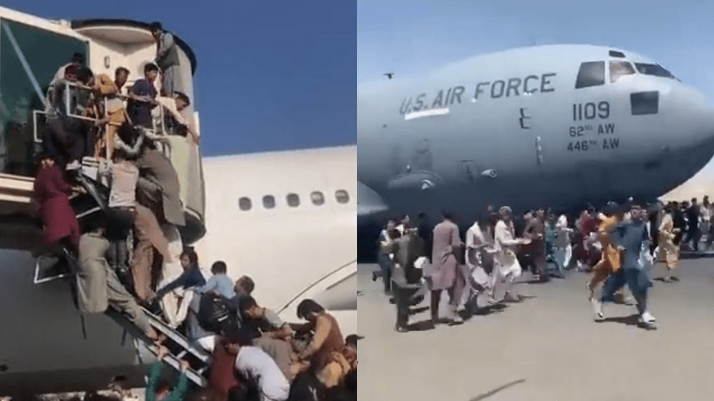 Three People Fallem From Afghanistan Flight
