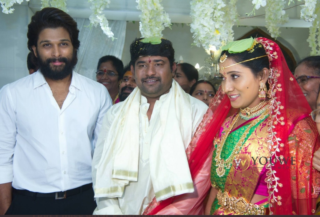 Allu Arjun As Special Attraction In the Marriage