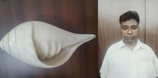 Gang Sold Fake Conch For Rs.2 Cr