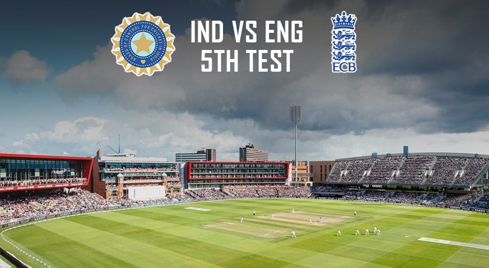 IND Vs Eng 5th Test Match Called Off