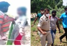 In Nellore Man Attacked on girl Arrested
