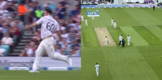 Jarvo Again Enters the Ground by this time Bowling