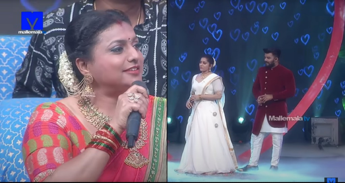 Roja Comments over Sudheer-Rashmi Marriage