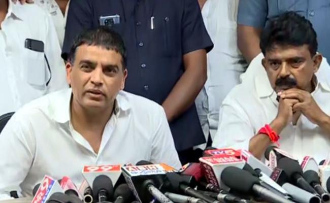 Producer Dil Raju Comments After Met With AP Minister Perni Nani