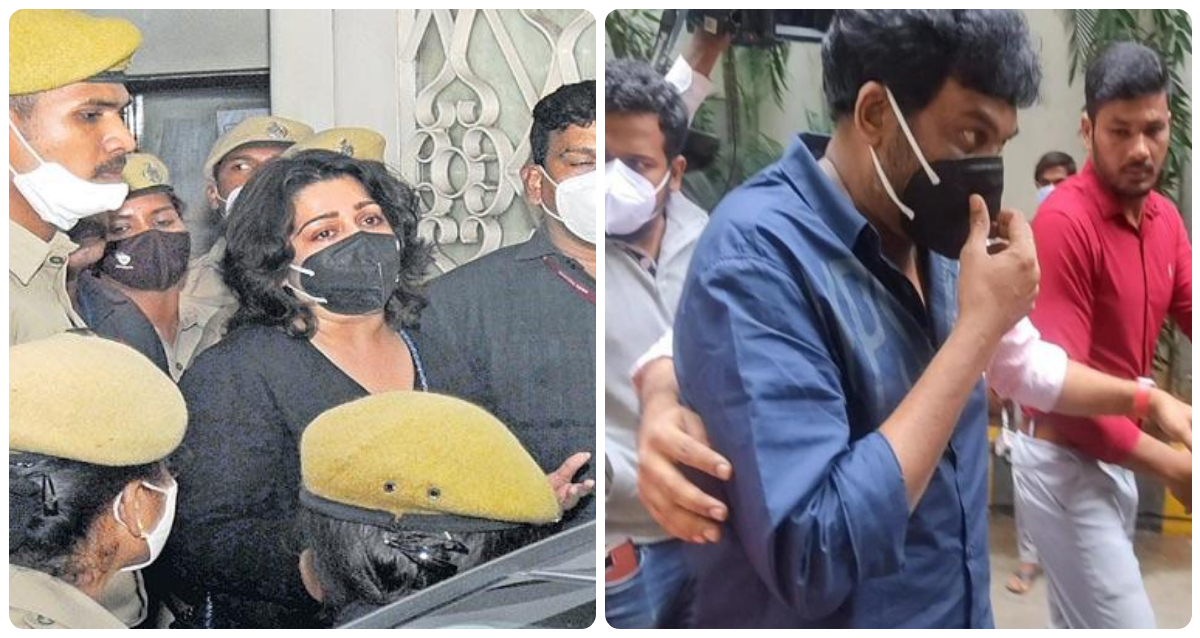 Actor Charmee Kaur grilled for 8 hours and Director Puri Jagannadh Questioned For 10 Hours by ED