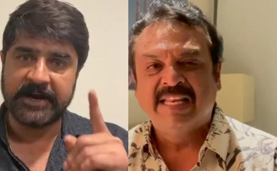 Srikanth and Naresh Alleging Each Other Before Maa Elections