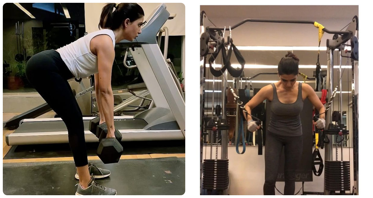 Samantha Spending More Time at Gym to Come out of Depression